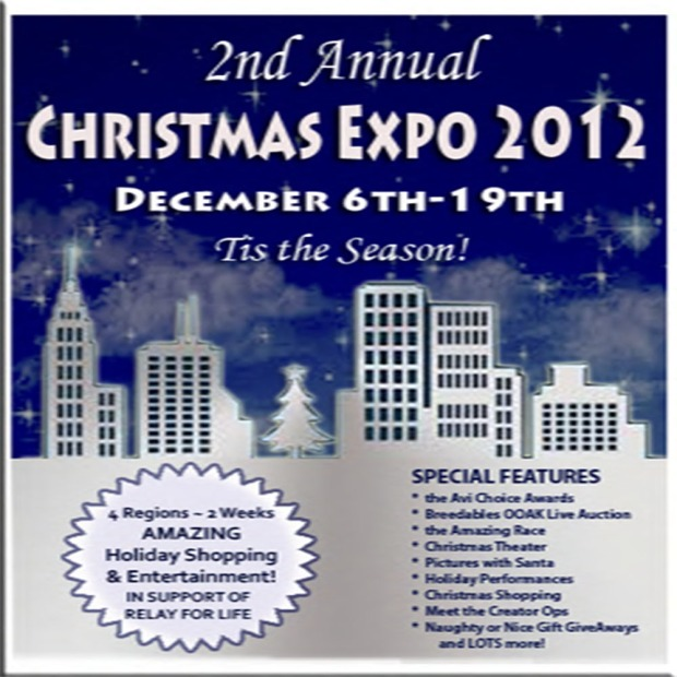 2012 Christmas Expo Sign