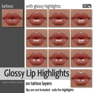 Izzie's - Glossy Lip Highlights
