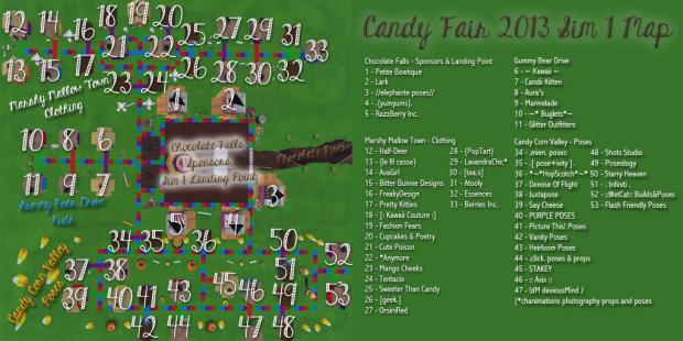 Candy Fair 2013 Map Sim 1