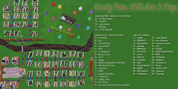 Candy Fair 2013 Map Sim 2