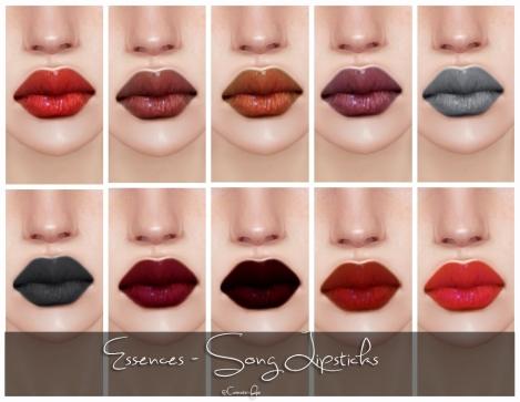 Essences Song Lipsticks
